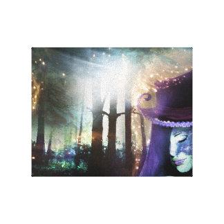 Menina da floresta da fantasia