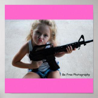 Menina de Badass Poster