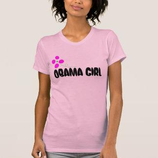Menina de Obama - flor abstrata Tshirts