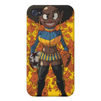 Menina do Afro iPhone 4 Capa