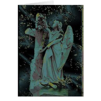Menina do cemitério # 6 cartões