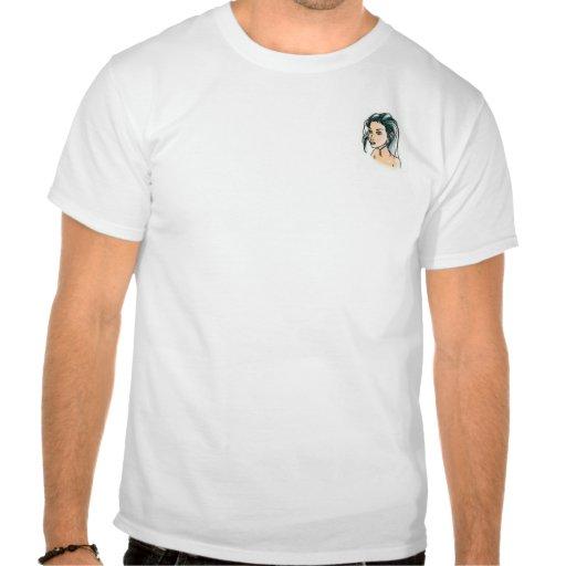 Menina do duende camisetas