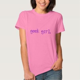 Menina do geek - t-shirt