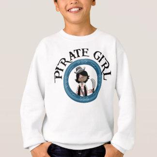 Menina do pirata camisetas