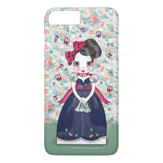 Menina do vintage de Sonya Capa iPhone 8 Plus/7 Plus