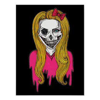 Menina do zombi pôster