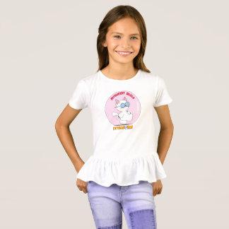 Menina introvertida do T do protetor T-shirts