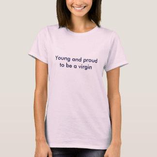 menina virgem tshirt