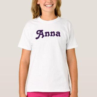 Meninas Anna da roupa Camiseta