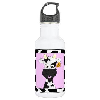 Meninas engraçadas dos desenhos animados da vaca