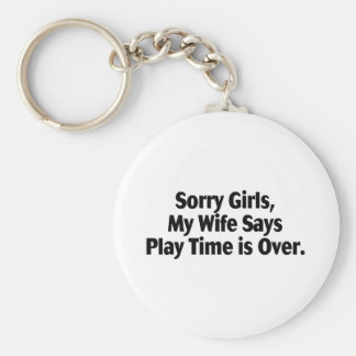 Meninas que pesarosas minha esposa diz que tempo d chaveiro