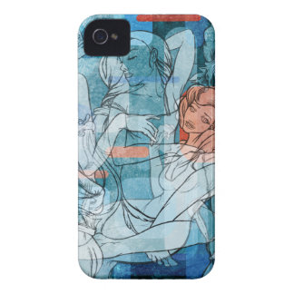 Meninas retros capa iPhone 4 Case-Mate
