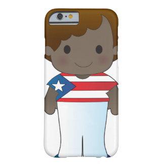 Menino de Puerto Rico da papoila Capa Barely There Para iPhone 6