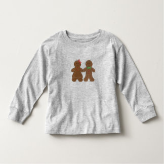 Menino do biscoito do pão-de-espécie & criança camiseta