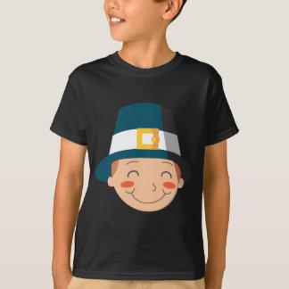 Menino do peregrino camiseta