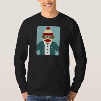 Menino feito sob encomenda do macaco da peúga do camiseta