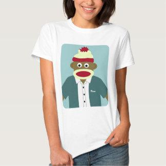 Menino feito sob encomenda do macaco da peúga do camisetas