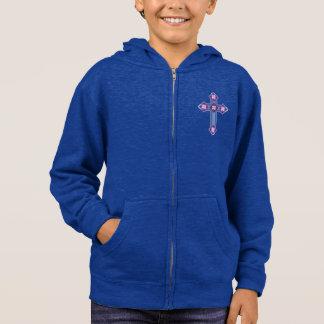 Meninos de Regium Crucis™ polis/Hoodie fecho de Tshirt