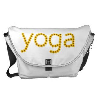 mensageiro do saco da ioga bolsas mensageiro