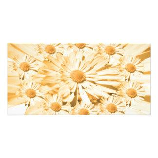 Mensagem de Goodluck com flores Cartão Com Foto