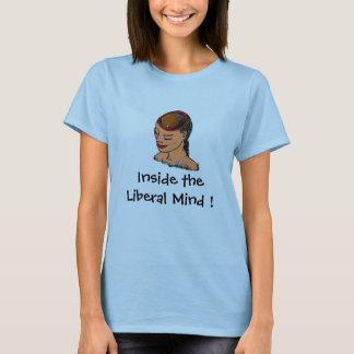 Mentes liberais, camiseta