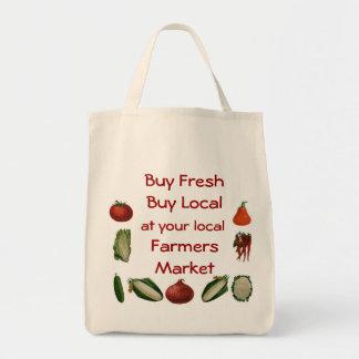 Mercado dos fazendeiros bolsa tote