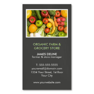 Mercearia orgânica moderna da fazenda