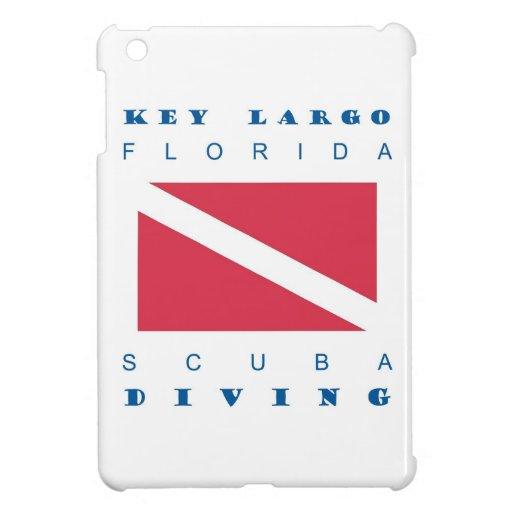 Mergulho chave do mergulhador de Florida do Largo Capa Para iPad Mini