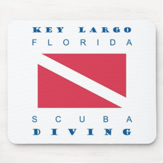Mergulho chave do mergulhador de Florida do Largo Mouse Pad
