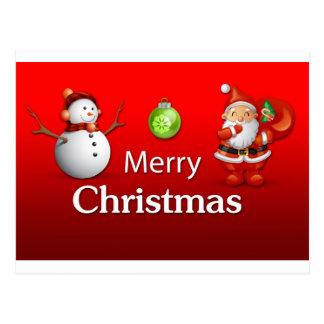merry-christma-new1 cartão postal