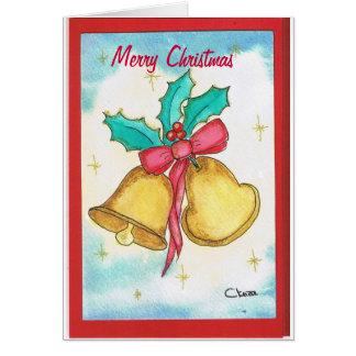 Merry Christmas Cartão De Nota