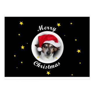 Merry christmas cartão postal