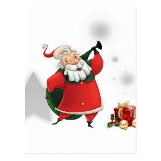 Merry Christmas   Feliz Natal   Joyeux Noël   Froh Cartão Postal