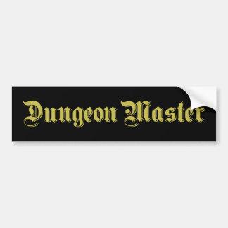 Mestre do Dungeon Adesivo Para Carro