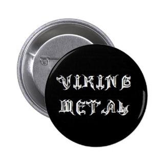 Metal de Viking Bóton Redondo 5.08cm