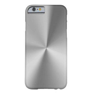 Metal escovado capa barely there para iPhone 6