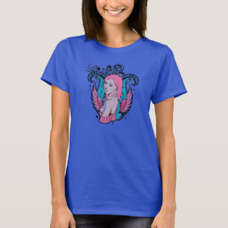 Metal woman rock camisetas