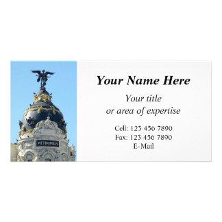 Metrópole, Madrid seus cartões de fotos da