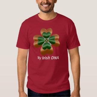 Meu ADN do irlandês Camisetas