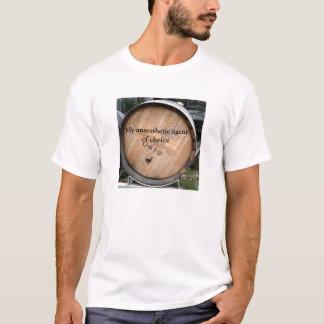 Meu agente anestésico do t-shirt bem escolhido