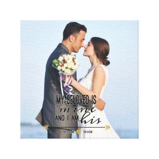 Meu amado é meu, escritura e foto do casamento