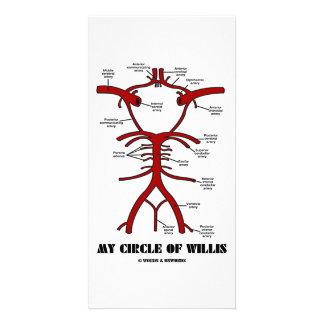 Meu anél do Willis (Humor anatômico das artérias) Cartoes Com Fotos Personalizados