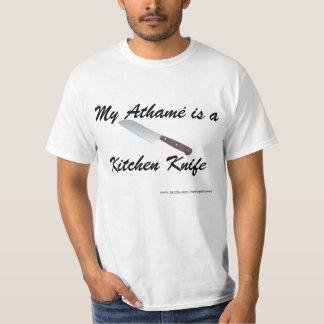 Meu Athamé é uma faca de cozinha T-shirt