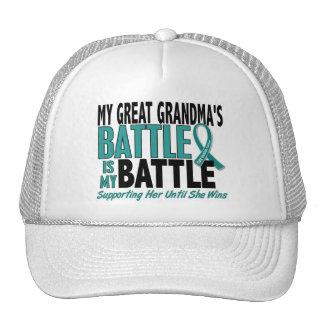 Meu câncer de ovário da avó da batalha demasiado g bones