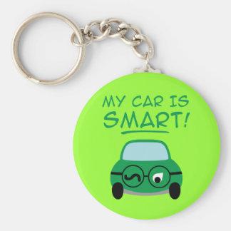 Meu carro é esperto chaveiro