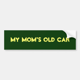 Meu carro velho da mãe adesivo para carro