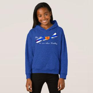 Meu coração é a camisola do hoodie de Nova Escócia T-shirts