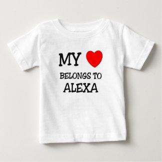 Meu coração pertence a ALEXA Tshirt