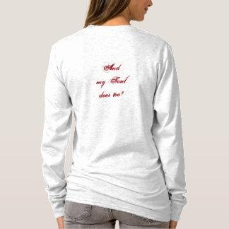 Meu coração pertence à camisa   de Jesus