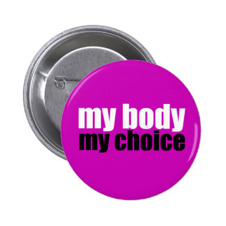 Meu corpo minha escolha boton
